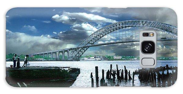 Bayonne Bridge Galaxy Case by Steve Karol