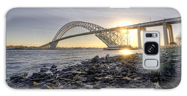 Bayonne Bridge Sunset Galaxy Case