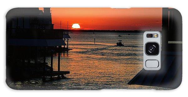 Bayou Vista Sunset Galaxy Case