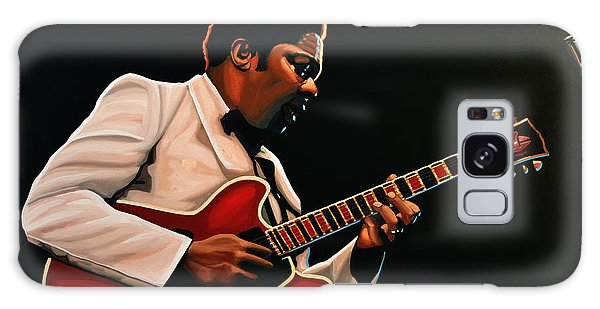 B B King Galaxy Case - B. B. King by Paul Meijering