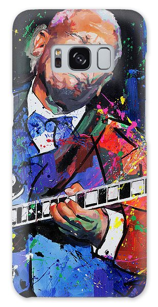 Bb King Portrait Galaxy Case