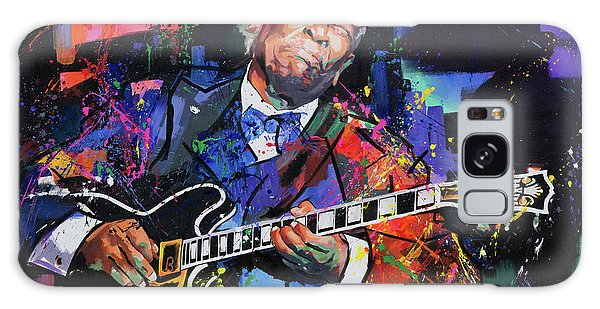 B B King Galaxy Case - Bb King by Richard Day