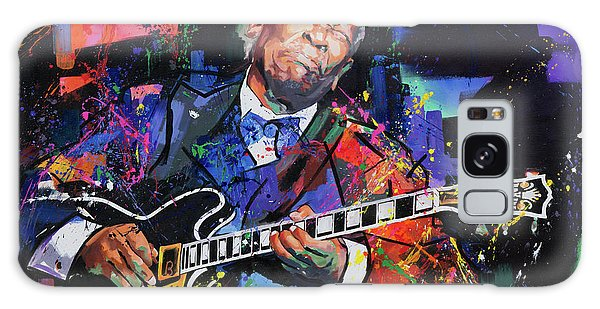 Bb King Galaxy Case by Richard Day