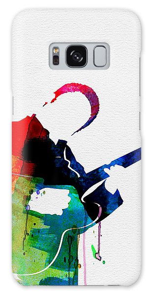 B B King Galaxy Case - B.b. King Watercolor by Naxart Studio