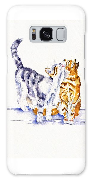 Cat Galaxy Case - Be Cherished by Debra Hall