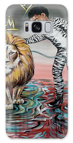 Galaxy Case - Be Courageous My Son by Artist RiA
