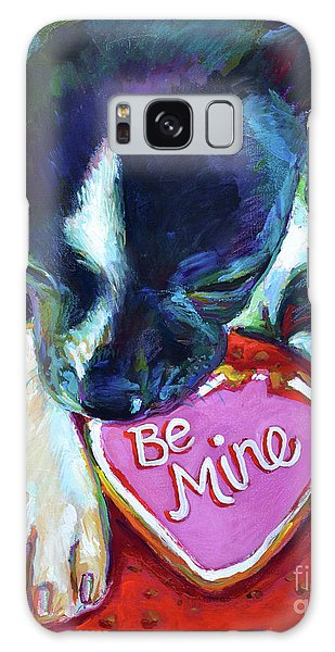 Be Mine Galaxy Case by Robert Phelps