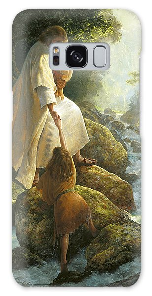 Galaxy Case featuring the painting Be Not Afraid by Greg Olsen
