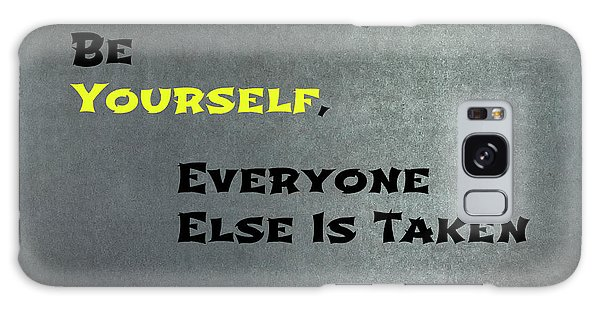 Be Yourself #1 Galaxy Case