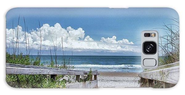 Beach Access Galaxy Case by Phil Mancuso