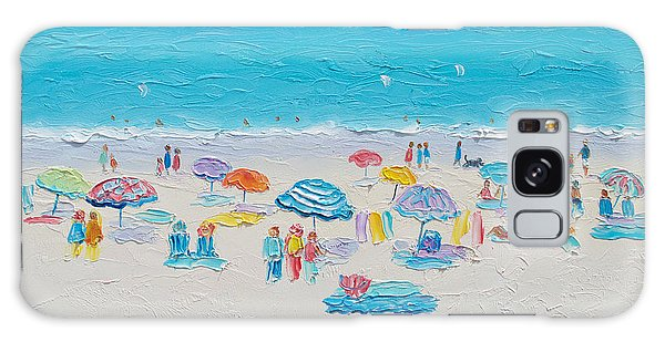 Beach Art - Fun In The Sun Galaxy Case