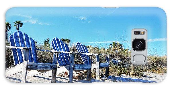 Adirondack Chair Galaxy Case - Beach Art - Waiting For Friends - Sharon Cummings by Sharon Cummings