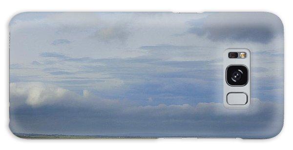 Beach At Enniscrone Galaxy Case by Amy Williams