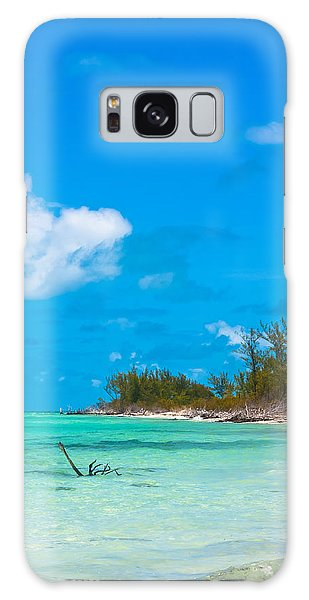 Beach At North Bimini Galaxy Case
