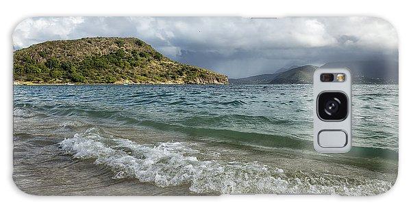 Beach At St. Kitts Galaxy Case