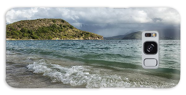 Beach At St. Kitts Galaxy Case