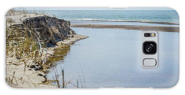 Beach At Warren Dunes Galaxy Case