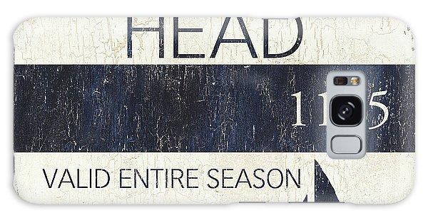 Galaxy Case - Beach Badge Hilton Head by Debbie DeWitt