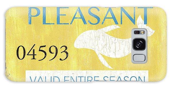 Galaxy Case - Beach Badge Point Pleasant by Debbie DeWitt