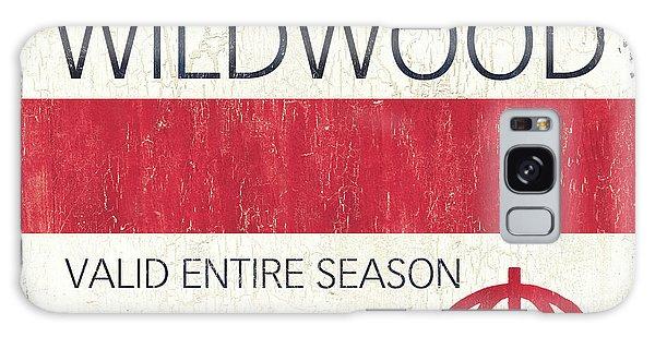 Galaxy Case - Beach Badge Wildwood 2 by Debbie DeWitt