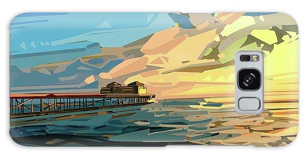 Beach Galaxy Case by Bekim Art