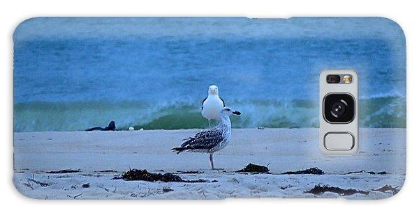 Beach Birds Galaxy Case