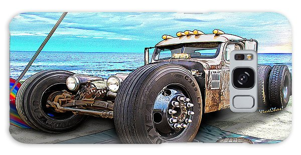 Beach Blanket Rat Rod Galaxy Case