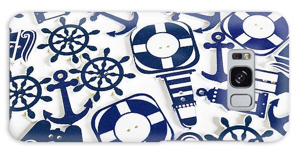 Navigation Galaxy Case - Beach Blue Background by Jorgo Photography - Wall Art Gallery