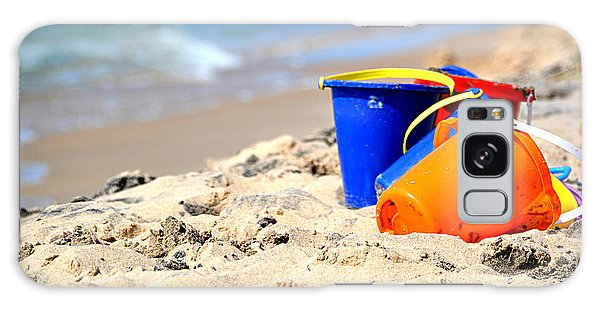Beach Buckets Galaxy Case