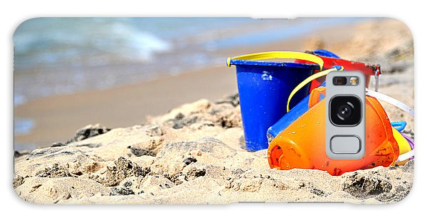 Beach Buckets Galaxy Case