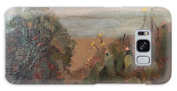 Beach Cactus Galaxy Case
