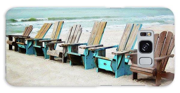 Beach Chairs Galaxy Case