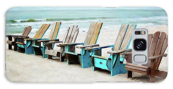 Beach Chairs Galaxy Case