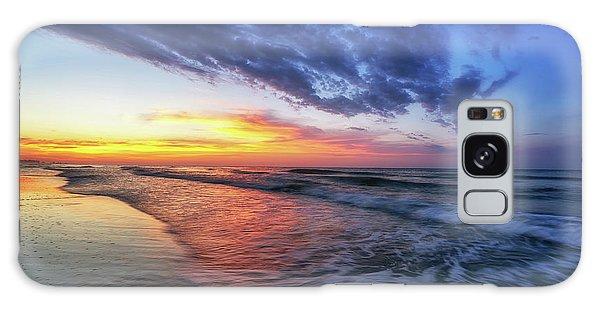 Beach Cove Sunrise Galaxy Case