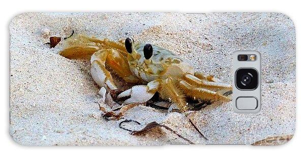 Beach Crab Galaxy Case