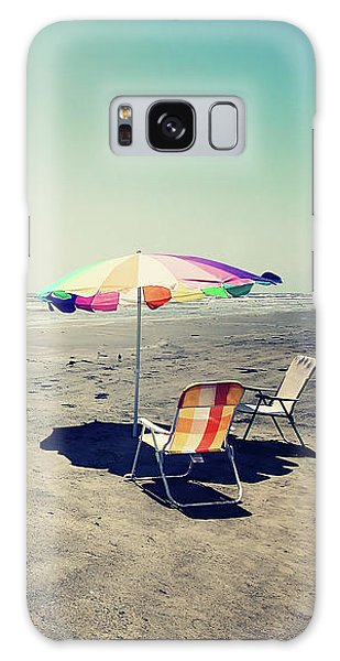 Beach Day Galaxy Case