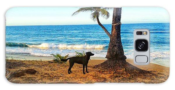 Beach Dog  Galaxy Case