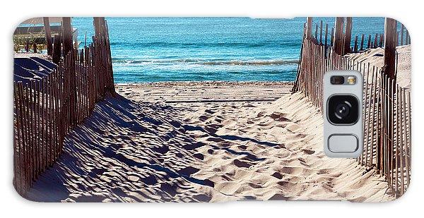Beach Entry On Long Beach Island Galaxy Case