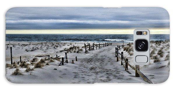 Beach Entry Galaxy Case by Paul Ward