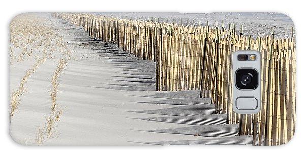 Beach Fence Shirley New York Galaxy Case