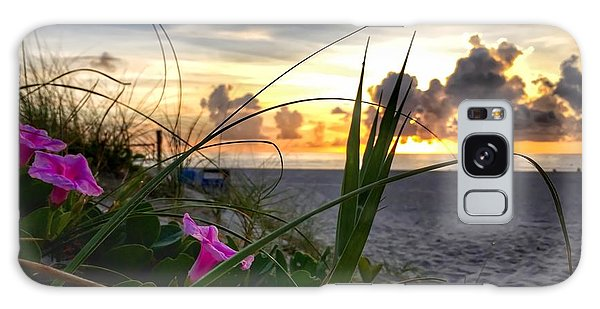 Beach Flowers Galaxy Case