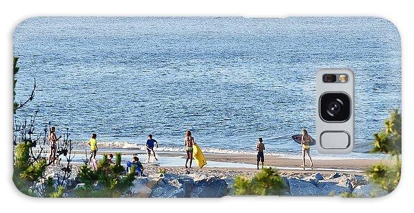 Beach Fun At Cape Henlopen Galaxy Case