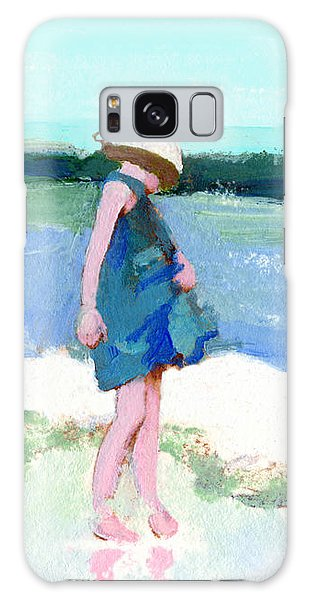 Beach Girl Galaxy Case