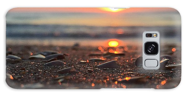 Beach Glow Galaxy Case by LeeAnn Kendall