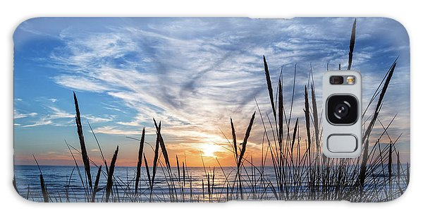 Beach Grass Galaxy Case by Delphimages Photo Creations