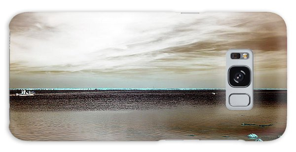 Beach Haven Bay Infrared Galaxy Case by John Rizzuto