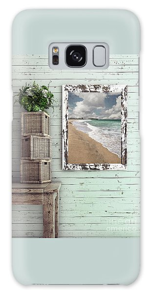 Galaxy Case featuring the photograph Beach House By Kaye Menner by Kaye Menner