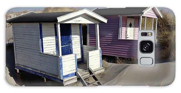 Beach Houses At Skanor Galaxy Case