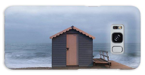 Beach Hut Galaxy Case