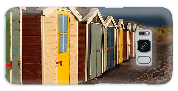 Beach Huts II Galaxy Case